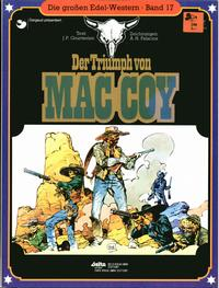 Cover Thumbnail for Die großen Edel-Western (Egmont Ehapa, 1979 series) #17 - Der Triumph von Mac Coy