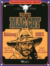 Cover Thumbnail for Die großen Edel-Western (Egmont Ehapa, 1979 series) #22 - Wanted Mac Coy