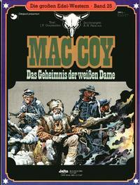 Cover Thumbnail for Die großen Edel-Western (Egmont Ehapa, 1979 series) #25 - Mac Coy - Das Geheimnis der weißen Dame