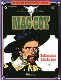 Cover Thumbnail for Die großen Edel-Western (Egmont Ehapa, 1979 series) #32 - Mac Coy - Die Schlacht am Little Big Horn