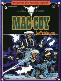Cover Thumbnail for Die großen Edel-Western (Egmont Ehapa, 1979 series) #34 - Mac Coy - Der Teufelscanon