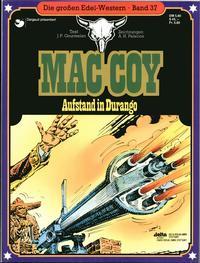 Cover Thumbnail for Die großen Edel-Western (Egmont Ehapa, 1979 series) #37 - Mac Coy - Aufstand in Durango