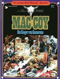 Cover Thumbnail for Die großen Edel-Western (Egmont Ehapa, 1979 series) #40 - Mac Coy - Die Sieger von Camerone