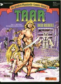 Cover Thumbnail for Die großen Phantastic-Comics (Egmont Ehapa, 1980 series) #2 - Taar - Der Rebell