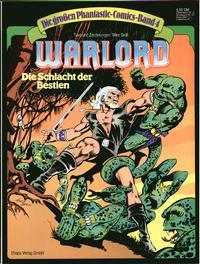 Cover Thumbnail for Die großen Phantastic-Comics (Egmont Ehapa, 1980 series) #4 - Warlord - Die Schlacht der Bestien