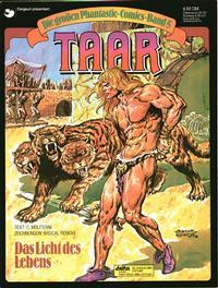 Cover Thumbnail for Die großen Phantastic-Comics (Egmont Ehapa, 1980 series) #5 - Taar - Das Licht des Lebens