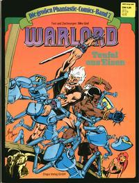 Cover Thumbnail for Die großen Phantastic-Comics (Egmont Ehapa, 1980 series) #7 - Warlord - Teufel aus Eisen