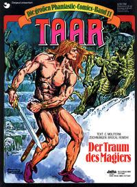 Cover Thumbnail for Die großen Phantastic-Comics (Egmont Ehapa, 1980 series) #11 - Taar - Der Traum des Magiers
