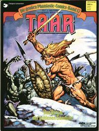 Cover Thumbnail for Die großen Phantastic-Comics (Egmont Ehapa, 1980 series) #17 - Taar - Das Rätsel der goldenen Sanduhr