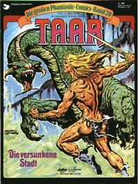 Cover Thumbnail for Die großen Phantastic-Comics (Egmont Ehapa, 1980 series) #20 - Taar - Die versunkene Stadt