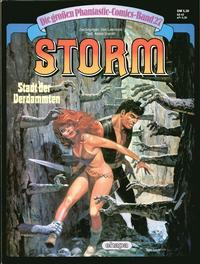 Cover Thumbnail for Die großen Phantastic-Comics (Egmont Ehapa, 1980 series) #27 - Storm - Stadt der Verdammten