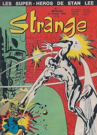 Cover for Strange (Editions Lug, 1970 series) #1