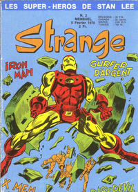 Cover Thumbnail for Strange (Editions Lug, 1970 series) #2
