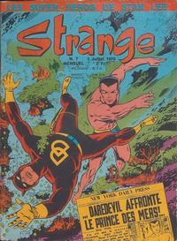 Cover Thumbnail for Strange (Editions Lug, 1970 series) #7