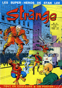 Cover Thumbnail for Strange (Editions Lug, 1970 series) #11