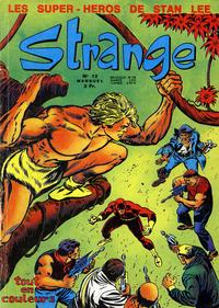 Cover Thumbnail for Strange (Editions Lug, 1970 series) #12
