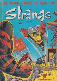 Cover Thumbnail for Strange (Editions Lug, 1970 series) #13