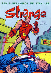 Cover Thumbnail for Strange (Editions Lug, 1970 series) #15