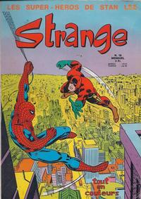 Cover Thumbnail for Strange (Editions Lug, 1970 series) #16