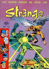 Cover Thumbnail for Strange (Editions Lug, 1970 series) #29