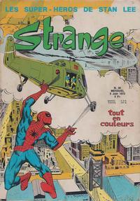 Cover Thumbnail for Strange (Editions Lug, 1970 series) #30