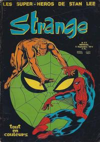 Cover Thumbnail for Strange (Editions Lug, 1970 series) #33