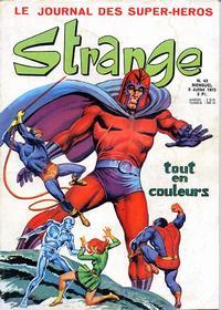 Cover Thumbnail for Strange (Editions Lug, 1970 series) #43