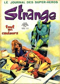 Cover Thumbnail for Strange (Editions Lug, 1970 series) #44