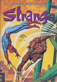 Cover Thumbnail for Strange (Editions Lug, 1970 series) #46