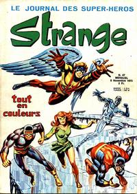 Cover Thumbnail for Strange (Editions Lug, 1970 series) #47