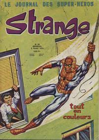 Cover Thumbnail for Strange (Editions Lug, 1970 series) #50