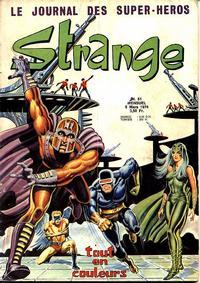 Cover Thumbnail for Strange (Editions Lug, 1970 series) #51