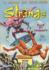 Cover Thumbnail for Strange (Editions Lug, 1970 series) #53