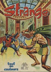 Cover Thumbnail for Strange (Editions Lug, 1970 series) #55