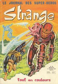 Cover Thumbnail for Strange (Editions Lug, 1970 series) #58