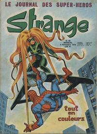 Cover for Strange (Editions Lug, 1970 series) #59