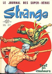 Cover Thumbnail for Strange (Editions Lug, 1970 series) #72