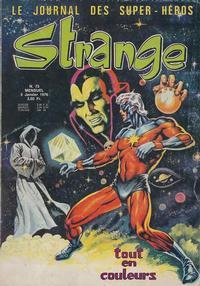 Cover Thumbnail for Strange (Editions Lug, 1970 series) #73