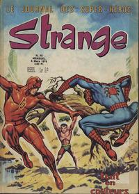 Cover Thumbnail for Strange (Editions Lug, 1970 series) #75