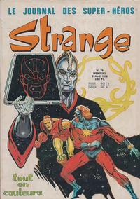 Cover Thumbnail for Strange (Editions Lug, 1970 series) #76