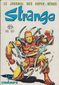 Cover Thumbnail for Strange (Editions Lug, 1970 series) #77