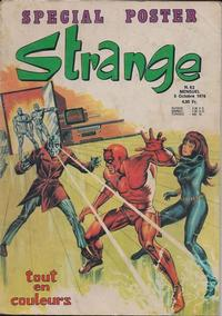 Cover Thumbnail for Strange (Editions Lug, 1970 series) #82