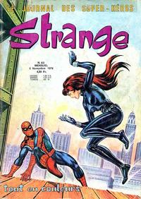 Cover Thumbnail for Strange (Editions Lug, 1970 series) #83