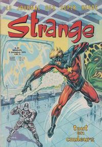 Cover Thumbnail for Strange (Editions Lug, 1970 series) #84