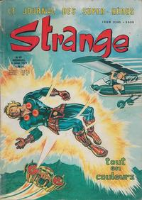 Cover Thumbnail for Strange (Editions Lug, 1970 series) #92