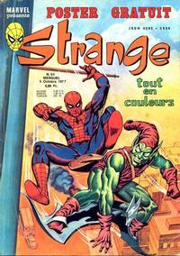 Cover Thumbnail for Strange (Editions Lug, 1970 series) #94