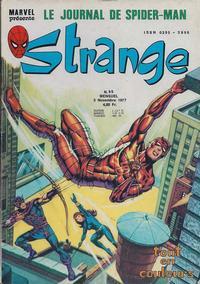 Cover Thumbnail for Strange (Editions Lug, 1970 series) #95