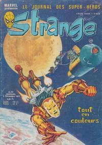 Cover Thumbnail for Strange (Editions Lug, 1970 series) #96