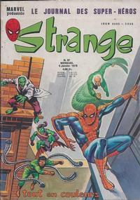 Cover Thumbnail for Strange (Editions Lug, 1970 series) #97