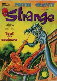 Cover Thumbnail for Strange (Editions Lug, 1970 series) #98